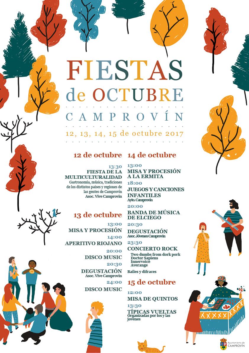 Fiestas de octubre.