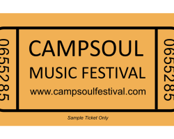 20 FRIDAY CLUB WEEKEND PASSES for CAMPSOUL 2021 AVAILABLE
