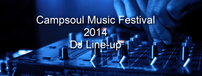 Campsoul 2014 DJ Line-up