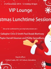 VIP Lounge Christmas Lunchtime Session