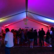 Campsoul Marquee at Night