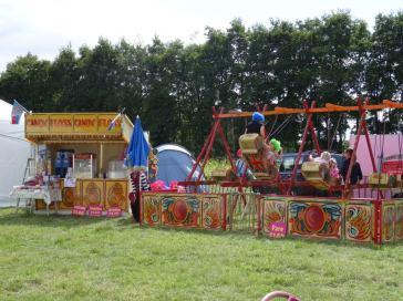 Fairground Swingboats