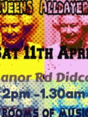Queens Alldayer 11-April-2014  Didcot, Oxfordshire