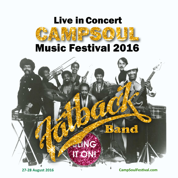 Fatback band live UK Concert Campsoul 2016