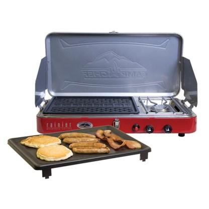 Camp Chef Rainier 2 Burner Grill & Stove Combo