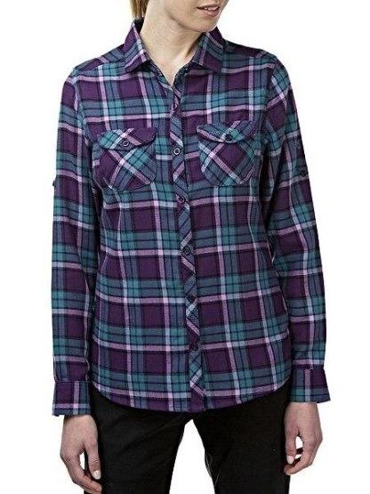 Craghoppers Braworth Shirt - Aubergine