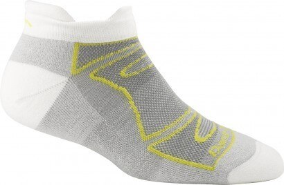 Darn Tough Women's Run/Bike No Show Tabbed Light Cushion Socks