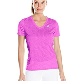 Adidas Ultimate Short Sleeve V-Neck T - Purple Matte