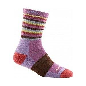 Darn Tough Stripes Micro Crew Cushion Sock
