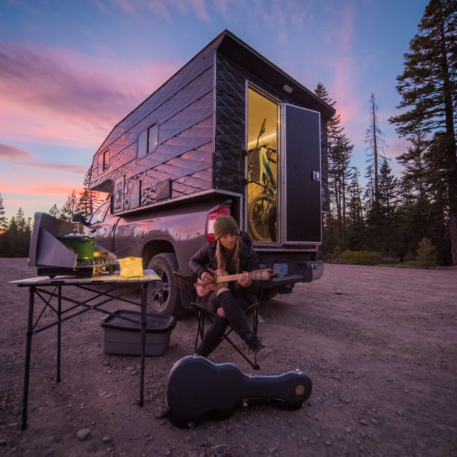 Red Bull Van Life Michelle Parker Camp Trend