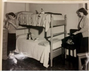 Female students in dorm