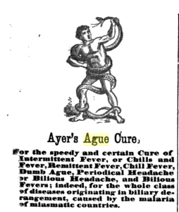 Ayer's Ague Cure Ad - Image Source