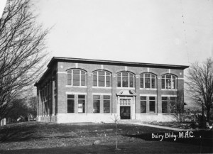 Dairy Science Building, no date. Image courtesy of MSU Archives & Historical Collections.