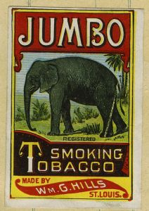 Jumbo smoking tobacco ad. Image source.