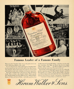 1935 ad with a drawing of a bottle very similar to that recovered from the Brody/Emmons Dump