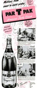 Nehi Cola Par-T-Pak advertisement. Life Magazine March 27th, 1950.