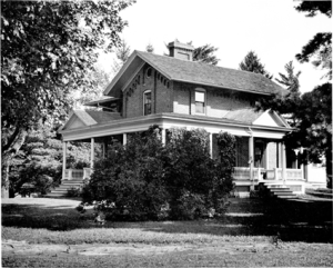 A View of Cowles House ca. 1920