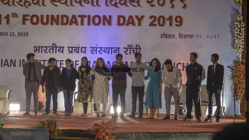 10th Foundation Day at IIM Ranchi