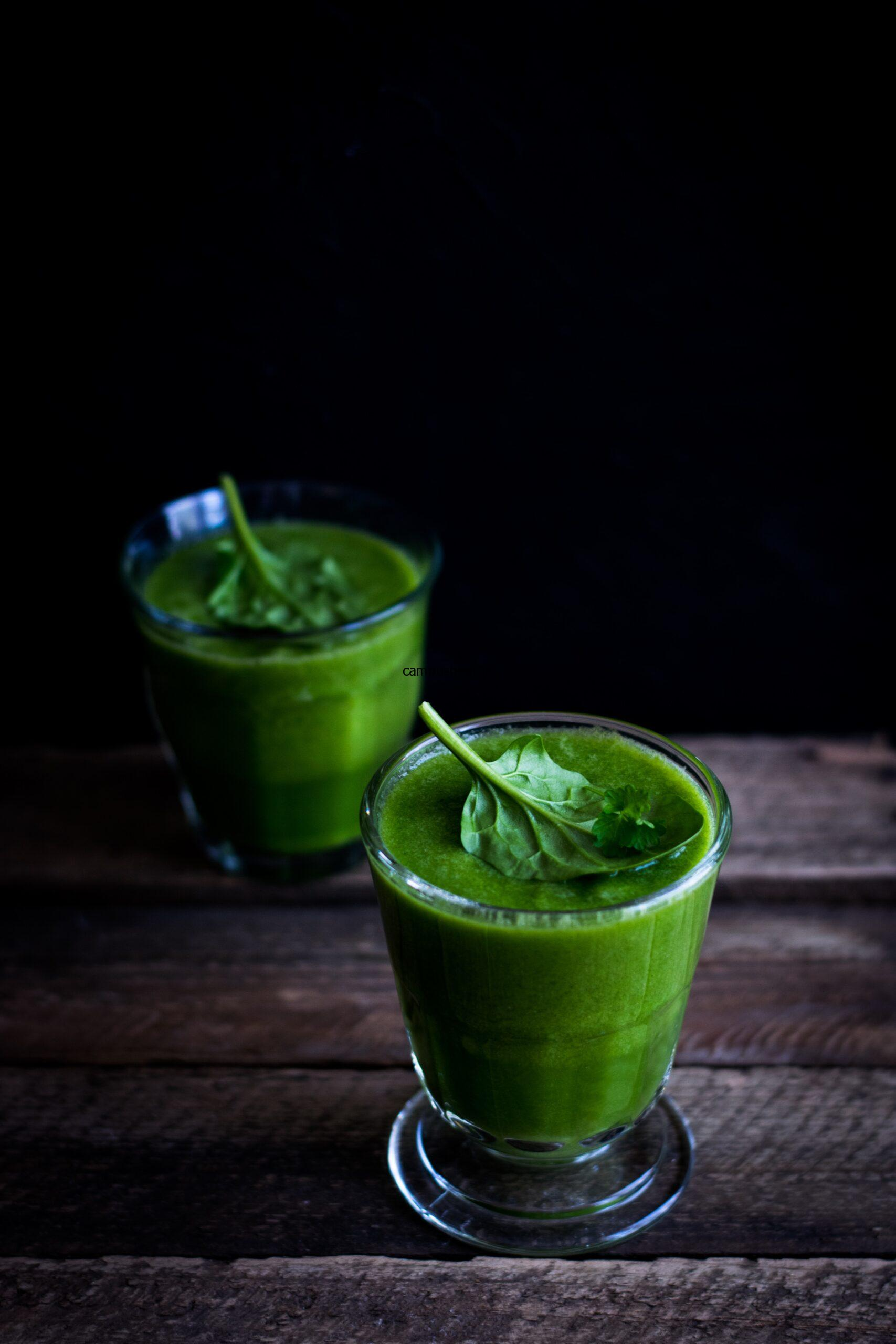 Glorify yourself with Green Smoothie