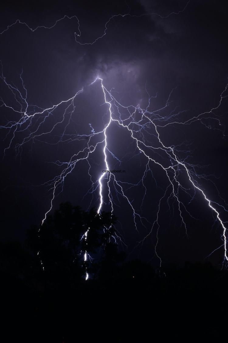 Deaths Due to Lightning Reaches 116; DMD Urges use of Indravajra App