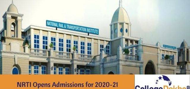 Admission Process for NRTI B.Tech, 2020 Started