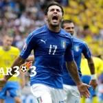 Italia Menjamin Masuk Ke 16 Besar Setelah Eder menyilaukan gol Kepada Swedia