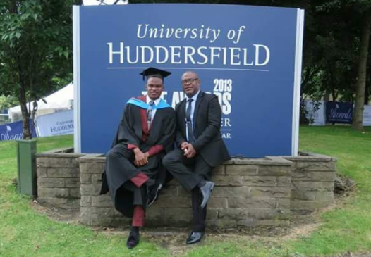 Abasiodiong Jackson Graduates With 1st Class From University Of Huddersfield UK