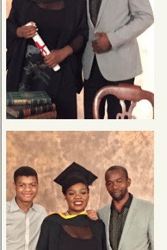 Mamobo, Kingsley Ogoro's Daughter Graduates With 1st Class Honors From Poland