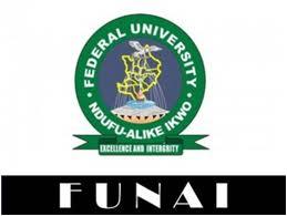 FUNAI Pre-degree Admission List (1st Batch) 2017/2018