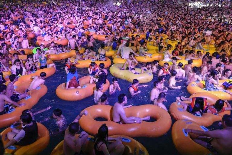 Wuhan Pool Party In China Sparks Outrage Amidst Covid-19