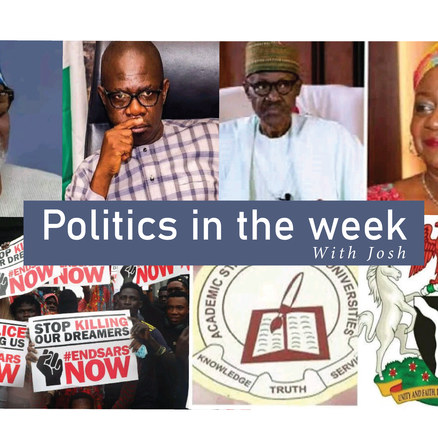 POLITICS IN THE WEEK – October 17, 2020