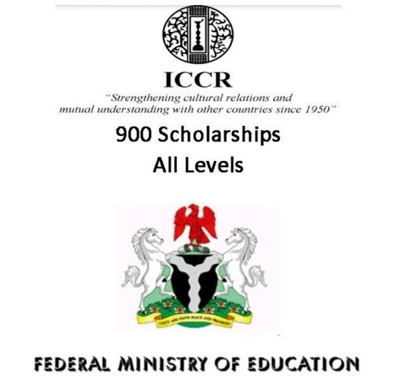 THE INDIAN COUNCIL FOR CULTURAL RELATIONS (ICCR) SCHOLARSHIP FOR QUALIFIED NIGERAIN STUDENTS (2021/2022 SESSION)