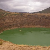 Green Crater Lake