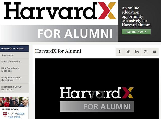 HarvardX's SPOCs