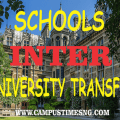 Latest Nigeria Schools That Accept Inter University Transfer