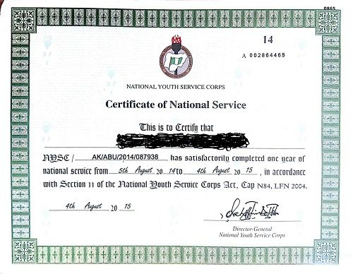 How To Process NYSC Exemption Certificate Without Stress - CampusTimesNG