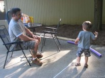 Daddy & Logan