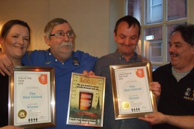 2018 Pub and cider pub of the year - The New Oxford