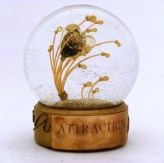 Attraction copper heart snow globe, Camryn Forrest Designs