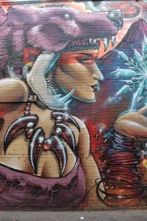 Street Art on the 16th Street Mall in Denver, Colorado