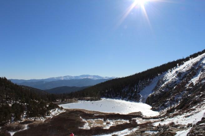 St. Mary's Glacier in Colorado