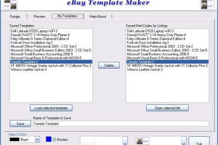 Free Templates Ebay Listing Template Generator Free Templates - Free ebay template maker