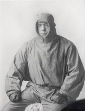 Studio portrait of Sir Ernest Shackleton in sledging gear, SPRI Picture Library, P99_40 © Scott Polar Research Institute