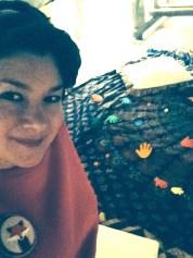 Laura's in the den