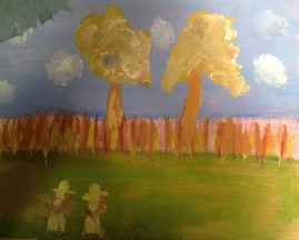 Impressionist painting by students 2