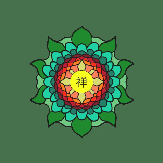 Leaves Flower Mandala