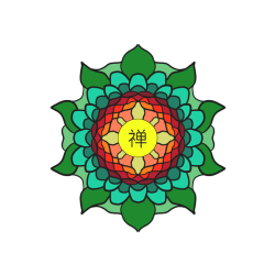 Leaves Flower Mandala