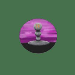 Standing Zen Pebbles