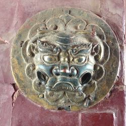 Temple Door Knocker