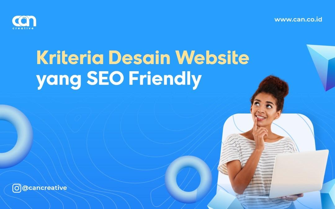 Kriteria Desain Website yang SEO Friendly